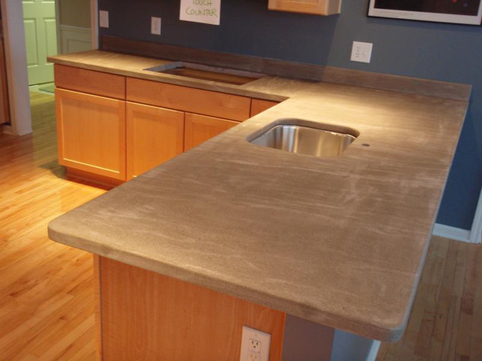 kitchen modern countertop clean countertops with fossil limestone care